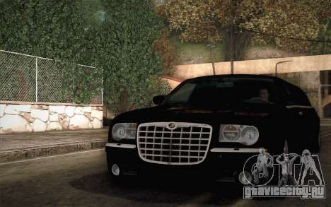 Chrysler 300C Limo 2007 для GTA San Andreas вид справа