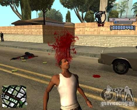 C-HUD by olimpiad для GTA San Andreas третий скриншот