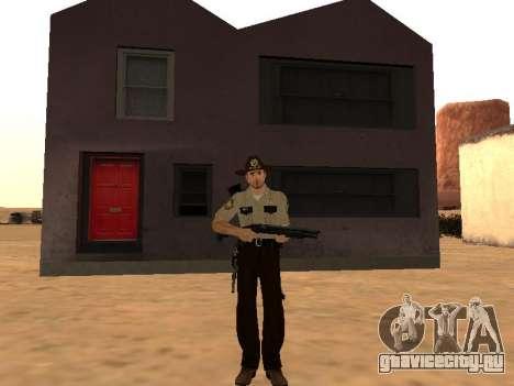 Rick Grimes для GTA San Andreas второй скриншот