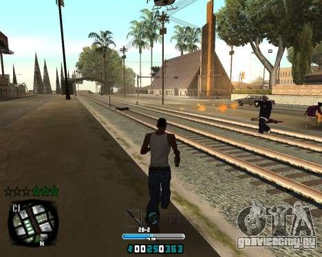 C-HUD Old Tawer для GTA San Andreas второй скриншот