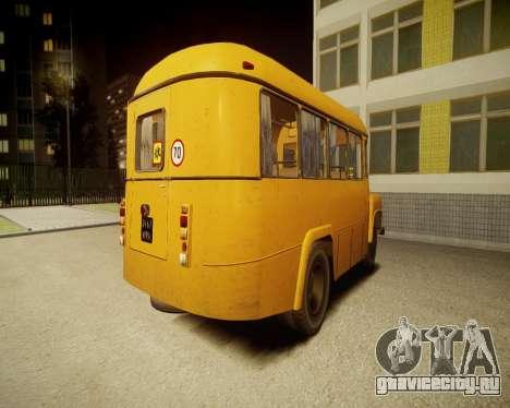 КАвЗ-685 Школьный для GTA 4 вид сзади слева