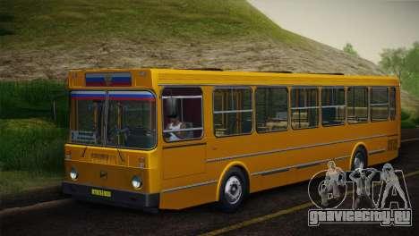 ЛиАЗ 5256.00 Скин-пак 5 для GTA San Andreas вид справа