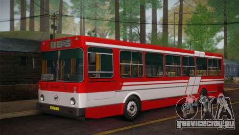 ЛиАЗ 5256.00 Скин-пак 1 для GTA San Andreas вид слева