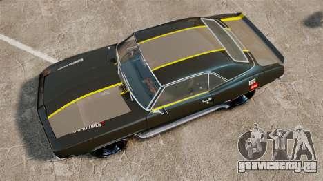 Chevrolet Camaro Z28 для GTA 4 вид справа