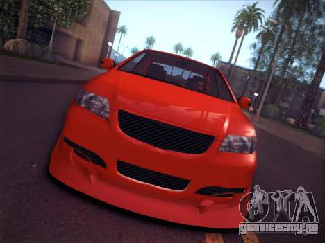 Toyota Vios Modified Indonesia для GTA San Andreas вид справа