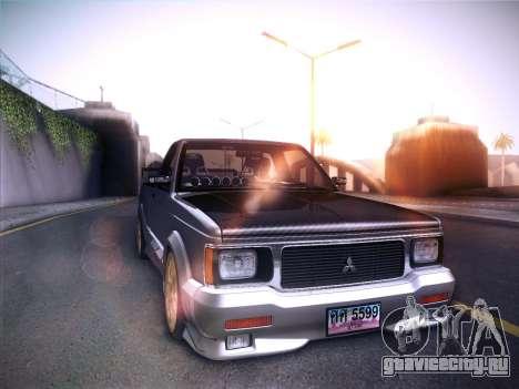 Mitsubishi Cyclone для GTA San Andreas вид слева