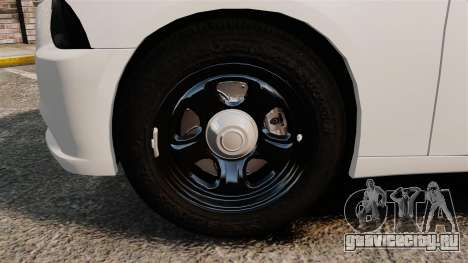 Dodge Charger 2014 для GTA 4 вид сзади