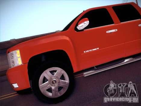 Chevrolet Cheyenne LT 2008 для GTA San Andreas вид сбоку