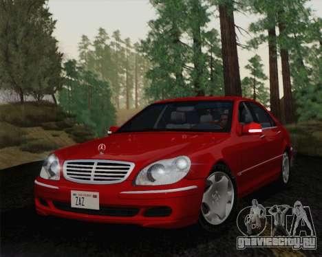 Mercedes-Benz S600 Biturbo 2003 для GTA San Andreas вид слева