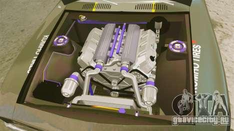 Chevrolet Camaro Z28 для GTA 4 вид сзади