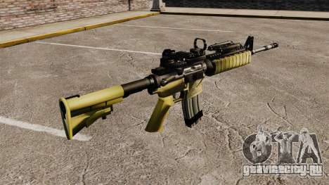 Автомат M4 Red Dop v2 для GTA 4 второй скриншот