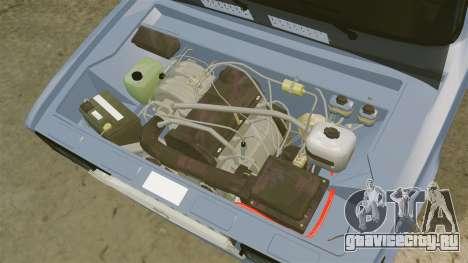 LADA 2107 Time Attack Racer для GTA 4 вид изнутри