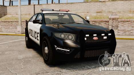 GTA V Vapid Police Interceptor [ELS] для GTA 4