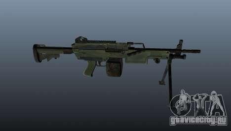 Ручной пулемёт C9 для GTA 4 третий скриншот