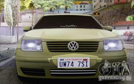 Volkswagen Bora Stance для GTA San Andreas вид справа