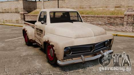 Ржавый старый грузовик для GTA 4