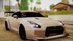 Nissan GT-R Liberty Walk для GTA San Andreas
