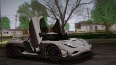 Koenigsegg Agera купе для GTA San Andreas