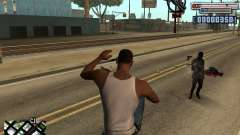 C-HUD by olimpiad для GTA San Andreas
