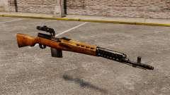 Самозарядная винтовка Токарева 1940г для GTA 4