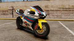 Ducati 848 Martini для GTA 4