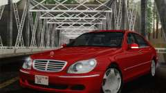 Mercedes-Benz S600 Biturbo 2003 для GTA San Andreas