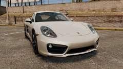 Porsche Cayman S 981C для GTA 4