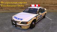 Федеральная сирена Touchmaster Delta