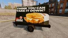 Новые рекламные щиты на колёсах