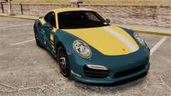 Porsche 911 Turbo 2014 [EPM] Alpinestars для GTA 4