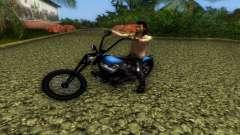 Harley Davidson Shovelhead для GTA Vice City