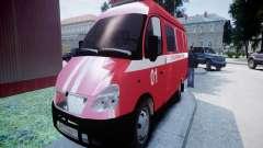 ГАЗель 2705 Пожарный Штаб