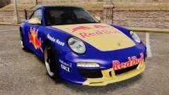 Porsche 911 Sport Classic 2010 Red Bull для GTA 4
