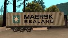 Прицеп MAERSK для GTA San Andreas