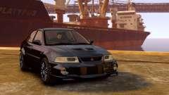Mitsubishi Lancer Evolution VI GSR 1999 для GTA 4