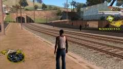 C-HUD Vagos Gang для GTA San Andreas