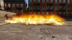 Новая настройка пожаров и взрывов