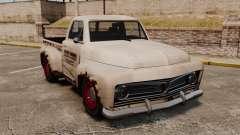 Ржавый старый грузовик