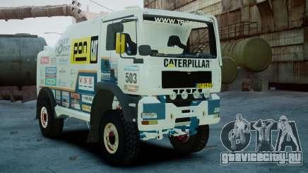 MAN TGA GINAF Dakar Race Truck для GTA 4