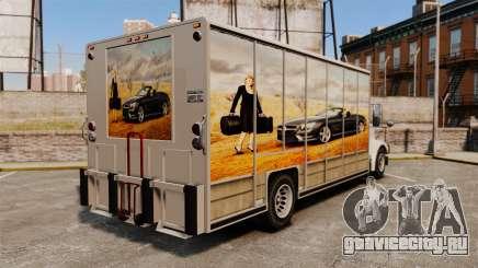 Новая реклама для Benson для GTA 4
