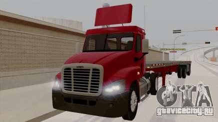 Freghtliner Cascadia Daycab 6x2 для GTA San Andreas