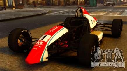 Formula Ford 1600 v1.0 для GTA 4
