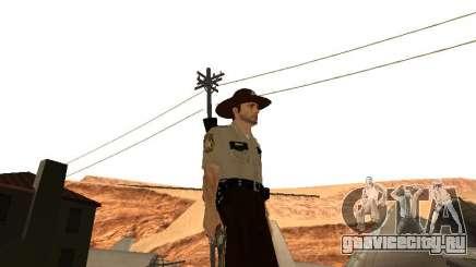 Rick Grimes для GTA San Andreas