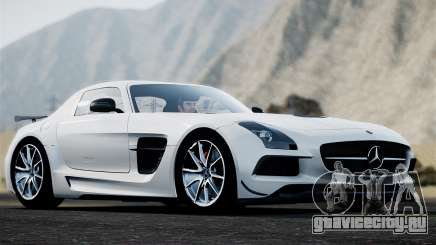 Mercedes-Benz SLS AMG Black Series 2014 для GTA 4