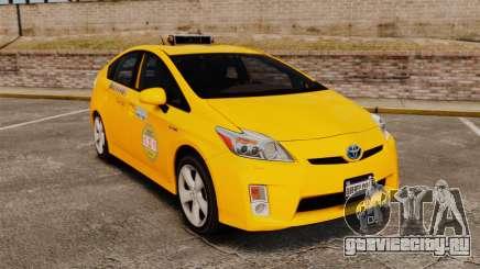 Toyota Prius 2011 Adelaide Independant Taxi для GTA 4
