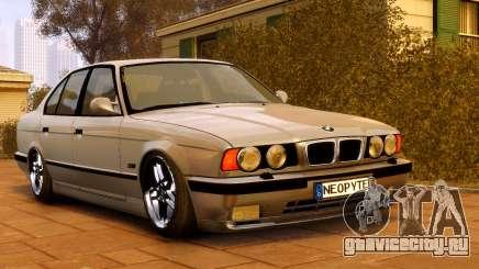 BMW M5 E34 1995 для GTA 4