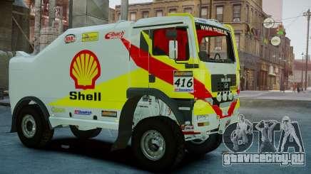 MAN TGA Dakar Truck Shell для GTA 4
