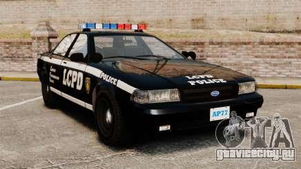 GTA V Vapid Police Cruiser [ELS] для GTA 4