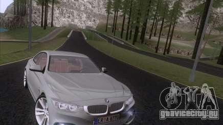 BMW F32 4 series Coupe 2014 для GTA San Andreas