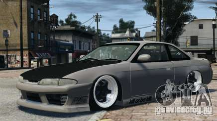 Nissan S14 Zenki JDM v2.0 для GTA 4